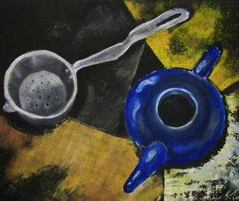 Kompositsioon 2010, õli 670 x 700 mm